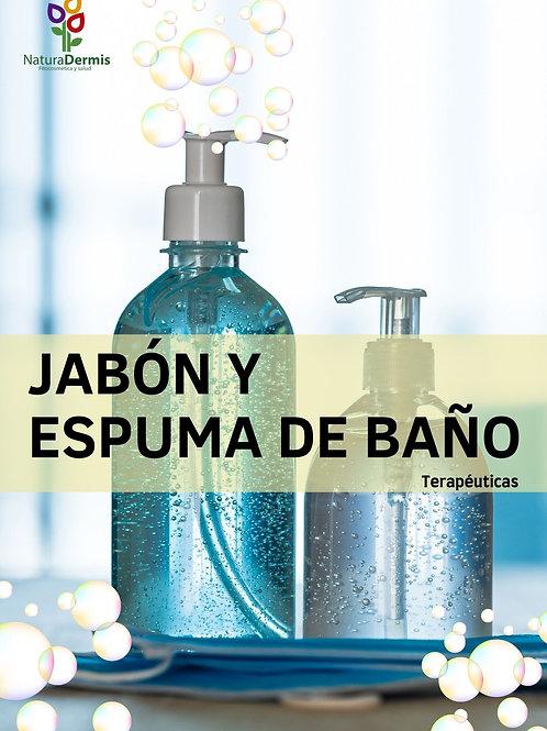 Libro Digital fórmulas jabón y espumas naturales
