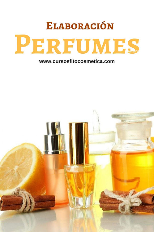 EBOOK  FABRICACIÓN DE PERFUME NATURAL