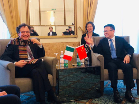 Ningbo Industrial Cooperation Seminar il 22 novembre 2018 a Roma