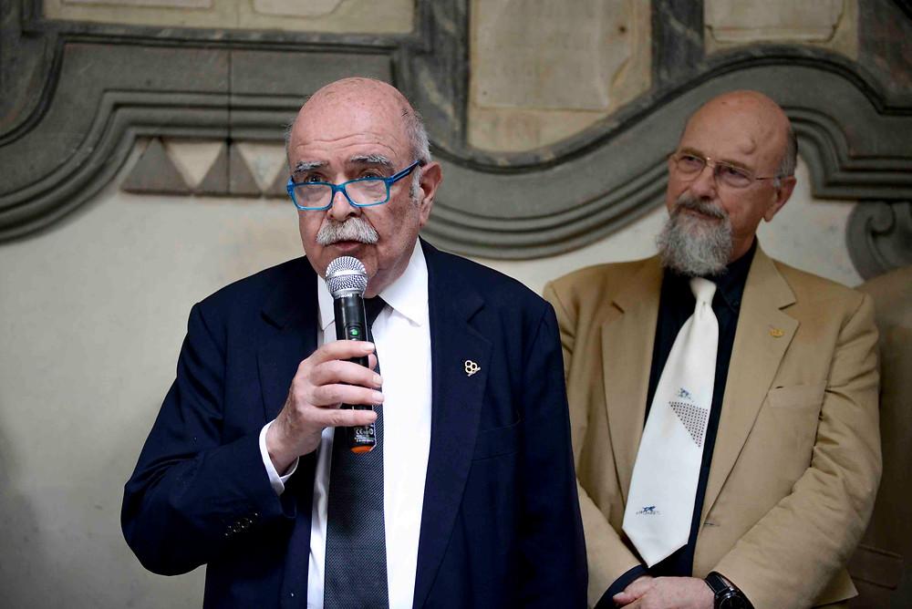 意大利艺术研究院名誉院长Luigi Zangheri教授致辞    ZAI - Zhong Art International