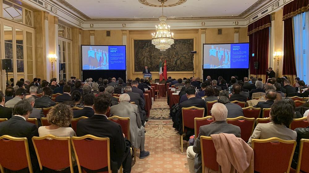 宁波市情和产业推介会在罗马成功举行