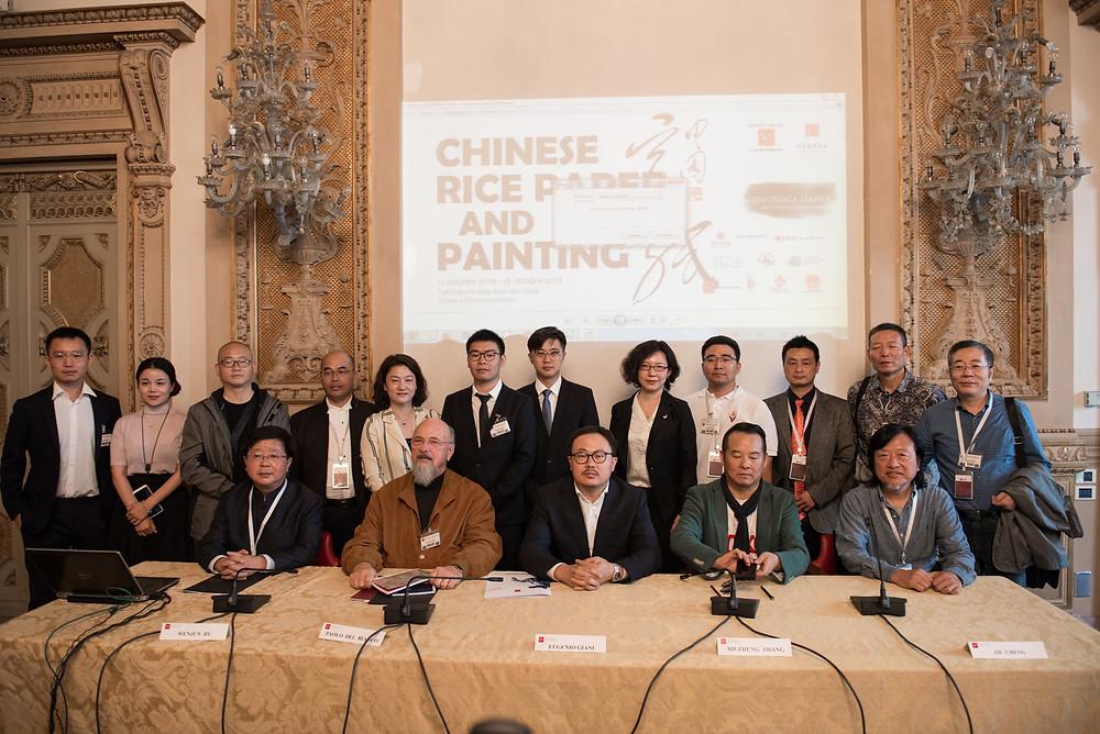 Paolo del Bianco , Gianni Zhang, ZAI, Zhong Art International中国宣纸与绘画意大利展览在意大利佛罗伦萨隆重召开