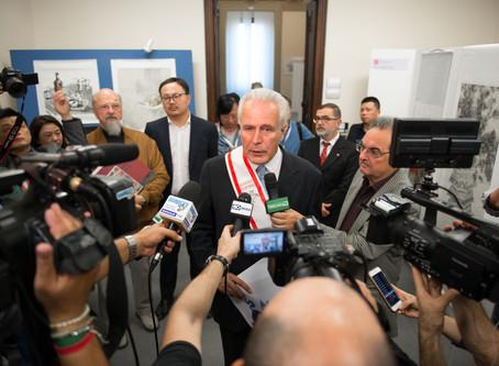 中国宣纸与绘画意大利展览在意大利佛罗伦萨隆重召开