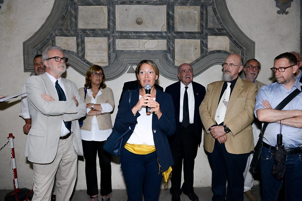 佛罗伦萨广域市市长代表Bendetta Albanese议员致辞 | ZAI - Zhong Art International
