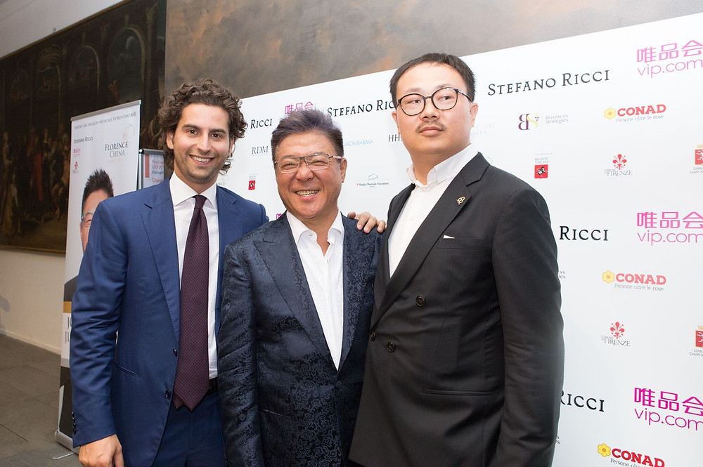 La pop star cinese Jonnie Jiang al Teatro del Maggio Musicale Fiorentino per il Florence China Charity Event - 1° luglio 2018