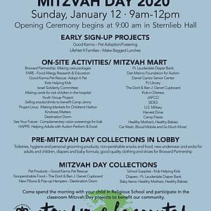 Temple Dor Dorim's Mitzvah Day