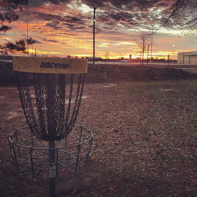 Owens Field Hole 14 Basket