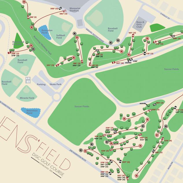 Owens Field Map