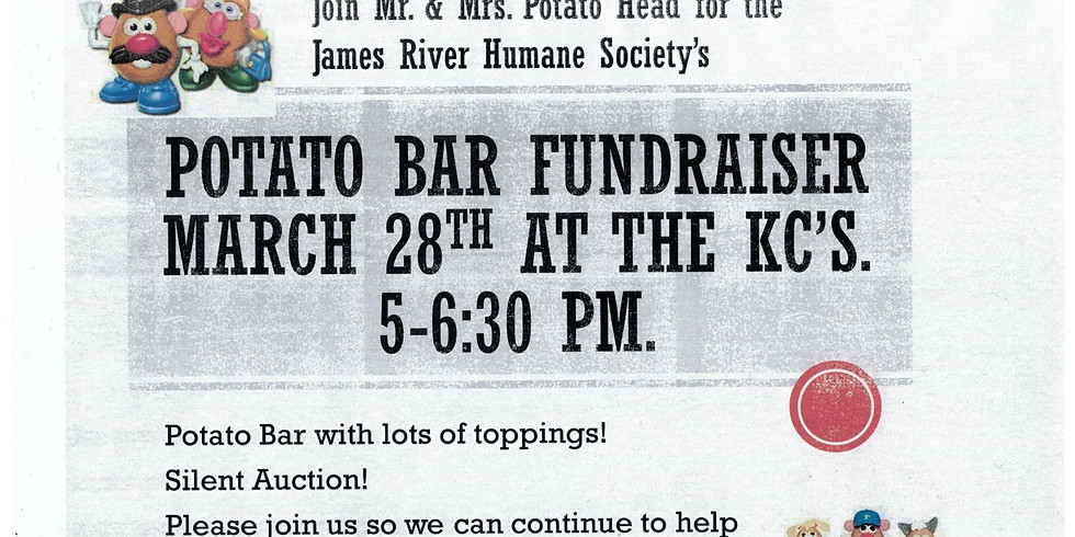 Potato Bar Fundraiser