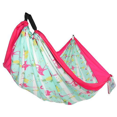 Flamingo One Person Travel Hammock