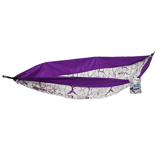 Purple Lightning 1 Person Travel Hammock