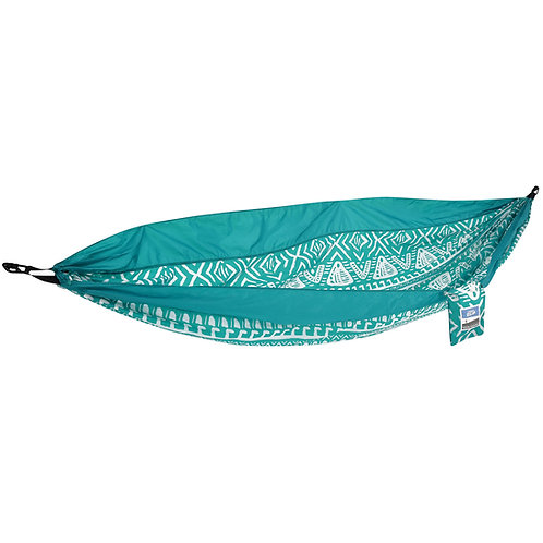 Blue Tribal 2 Person Travel Hammock