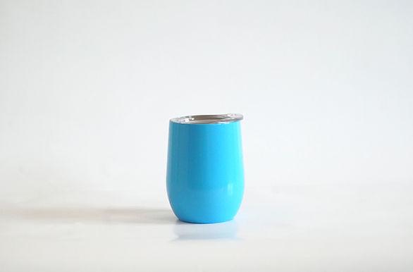 Edelstahl Weinbecher Blau