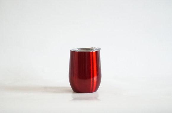 Edelstahl Weinbecher Rot
