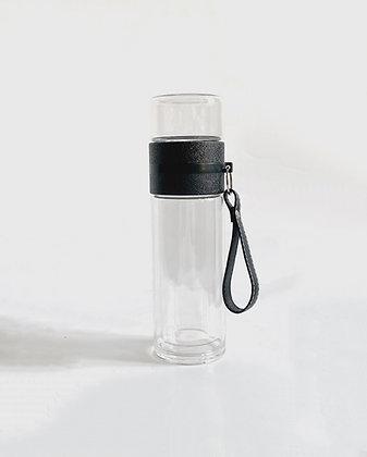 Air Teeflasche schwarz