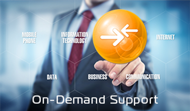 On-Demand Support Remote Support Webpage