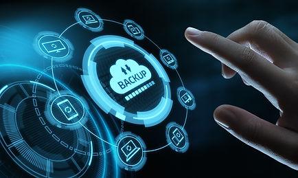 Backup Storage Data Internet Technology Business concept..jpg