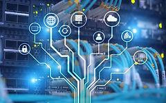 Server Room ICT information communication technology wireless internet connection big data