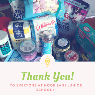 Big thanks to Nook Lane School