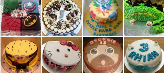 Free Cakes for Kids Sheffield 2016 bakes