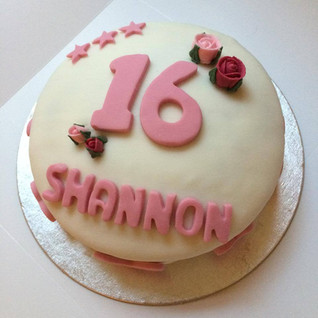A sweet 16 cake for a girl celebrating her birthday this week. Kate made this one and we hope the birthday girl enjoyed it!.jpg