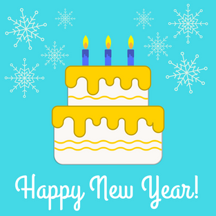 Happy New Year! We're open for cake requests.