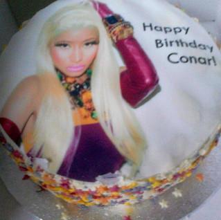 Volunteer Sue T made this brilliant Nikki Minaj cake for a teenage fan on his birthday  love it!.jpg