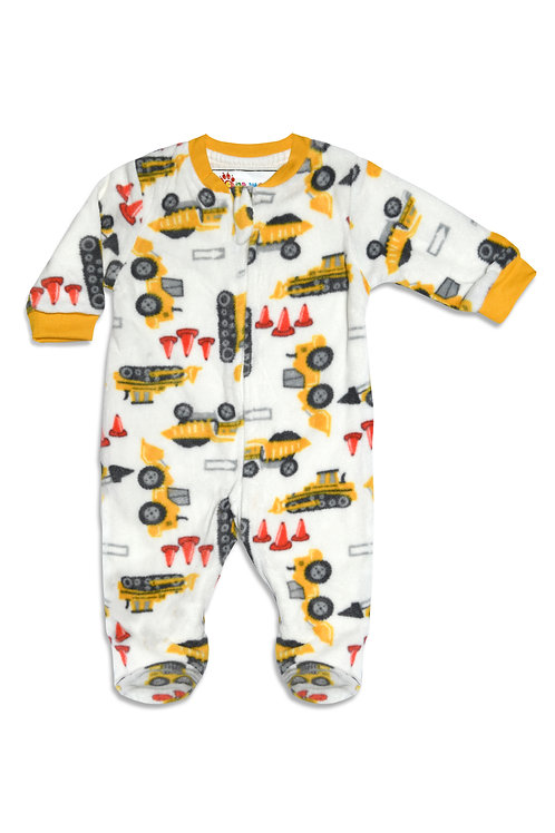 Trucks Fleece Babygrow