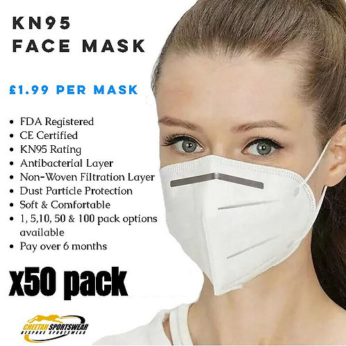 KN95 Face Mask - x50 Pack