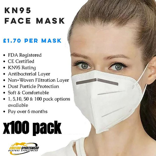 KN95 Face Mask - x100 Pack