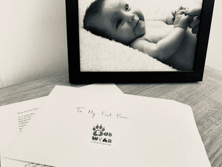 A love letter to my first born....