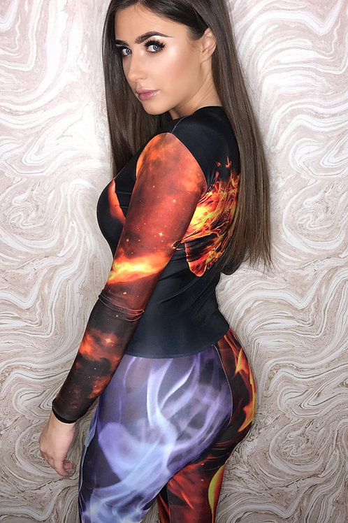 Fire Vs Ice Catsuit