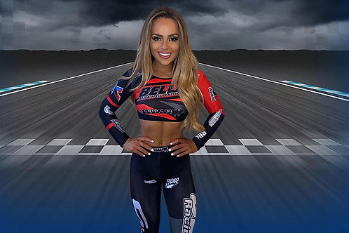 Bella Racing Crop top & leggings