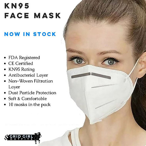 KN95 Face Mask - x10