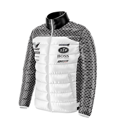 Puffer Jacket Grid Girl Outfits