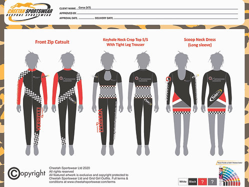 Corsa (x8 Outfits)