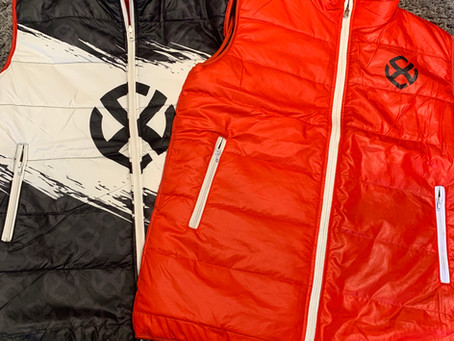 Reversible Gilets Now Available