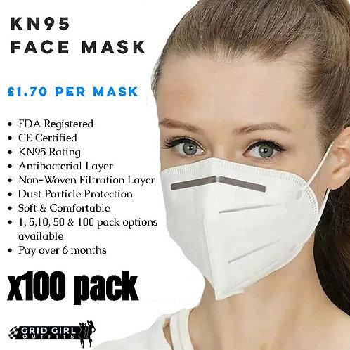 KN95 Face Mask - x100