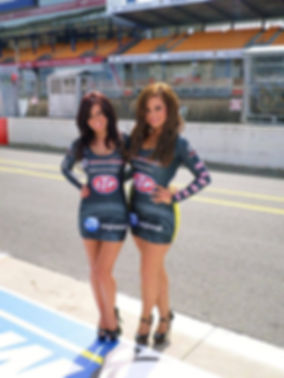 Grid Girl Outfits Dress
