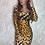 Thumbnail: Cheetah Dress UK10