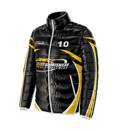 Korfball Puffer Jacket Cheetah Sportswear