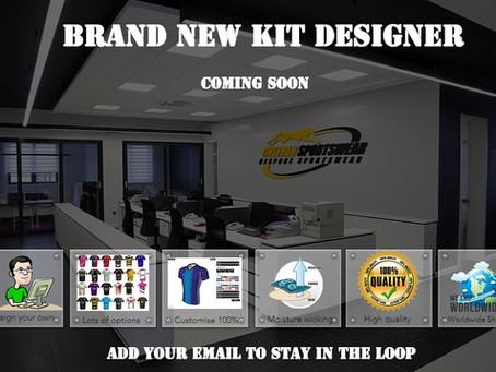 Our brand new Kit Designer software..