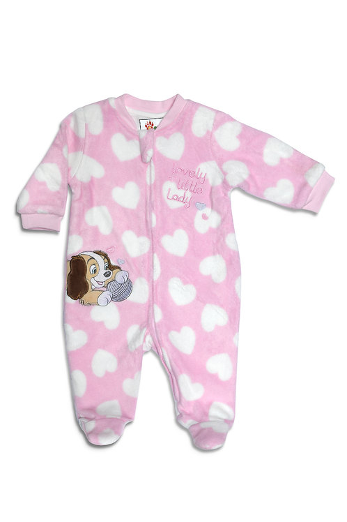 Little Lady Fleece Babygrow