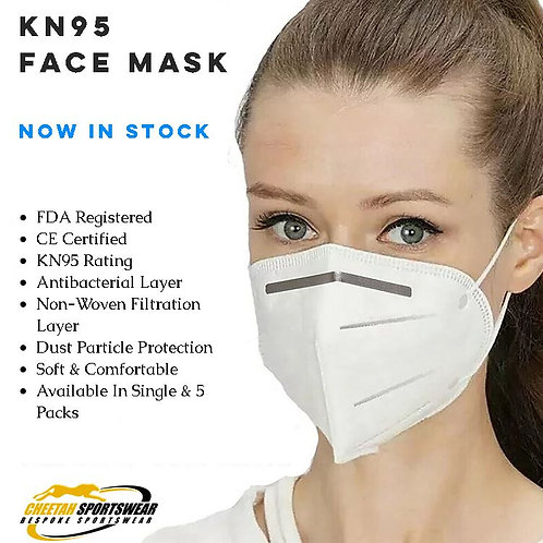 KN95 Face Mask - x5 Pack