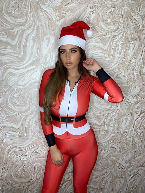 Christmas Catsuit - Pre-order any size