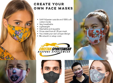 Create your own Face Masks