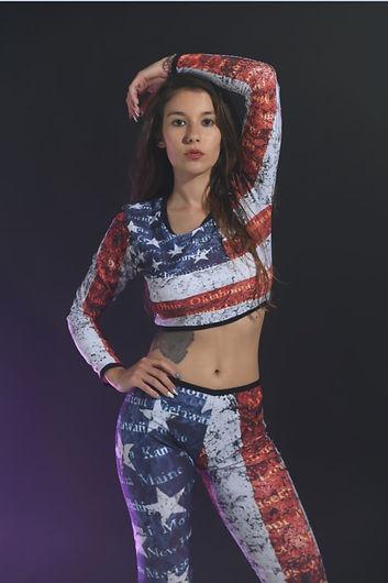 USA Crop top and leggings small.JPG