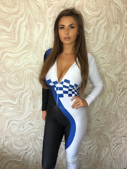 Grid Girl Catsuit  Zip - Champ Racing