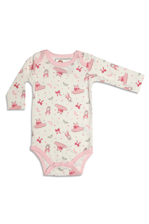 Pink Beauty Baby Bodysuit