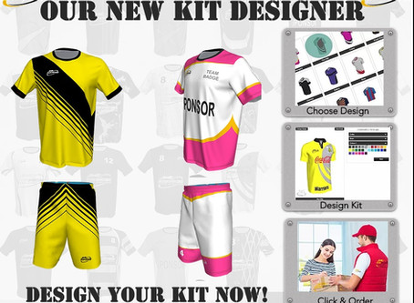 Try our new kit designer TODAY!